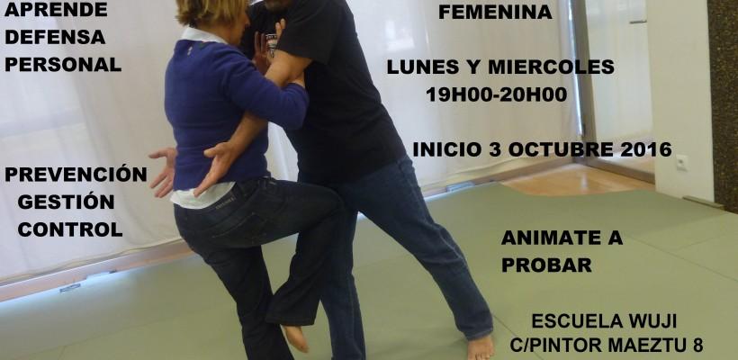 NUEVA ACTIVIDAD: DEFENSA PERSONAL FEMENINA