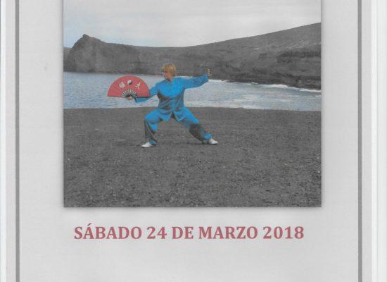 CURSO DE ABANICO TAICHI SÁBADO 24 DE MARZO 2018